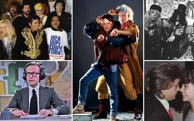 Sucesos que dejaron huella en el mundo del entretenimiento en 1985.