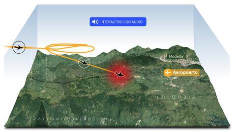 Promo accidente avión Colombia