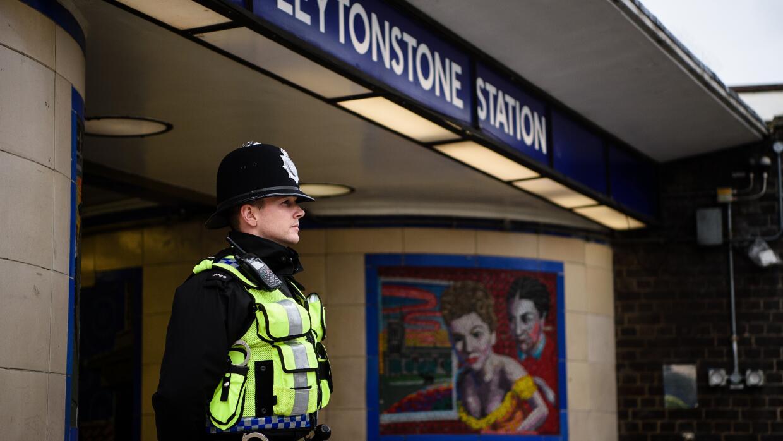 Seguridad en metro de Londres.