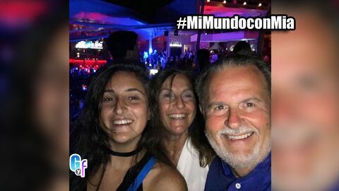 Mi Mundo con Mia, Raúl y su familia bailaron hasta que salió el sol en G...