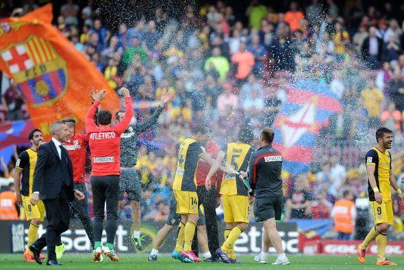 El Atlético de Madrid fue verdugo del Barcelona en Champions y en Liga.