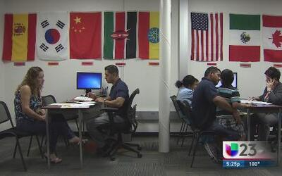 Centro para alumnos extranjeros del DISD