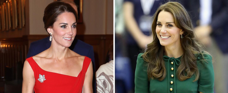 Kate Middleton es la perfección andando y sabe vestir para cada ocasión
