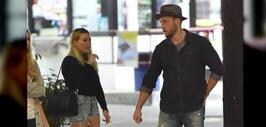 Hilary Duff y Jason Walsh incitan rumores de romance