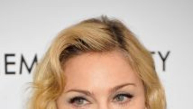 Madonna se robó la atención de las cámaras en la alfombra roja en la pre...