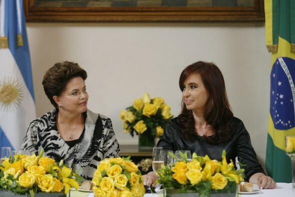 La presidenta de Argentina hizo público su agradecimiento a Dilma...