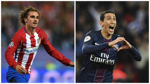 Griezmann al United y Di María al Barcelona, entre los rumores más calie...
