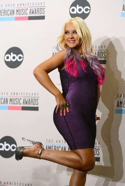 Las curvas de Christina Aguilera no nos incomodan para nada...