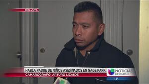 Padre de niños asesinados en Gage Park habla en exclusiva con Univision
