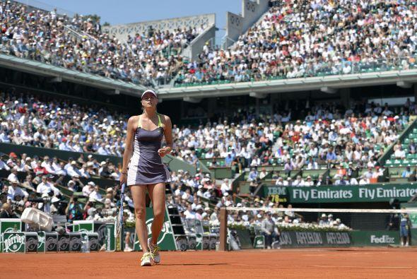 En la rama femenil, María Sharapova perdió los primeros seis games de su...
