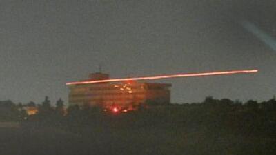Vista del Hotel Intercontinental, atacado por un grupo de talibanes. El...