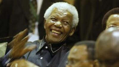 Nelson Mandela, expresidente sudafricano.