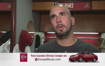 Oliver Pérez de los Diamondbacks