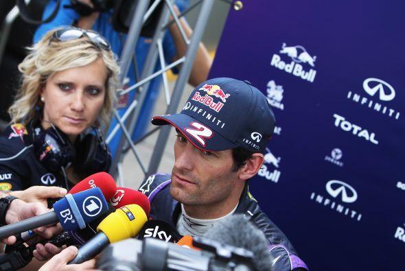 Mark Webber, con la consigna de ganar su Gran Premio local.