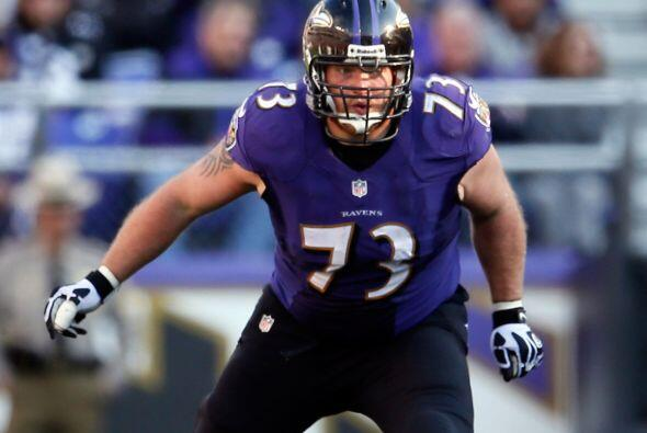 Guardia: Marshal Yanda, Baltimore Ravens.