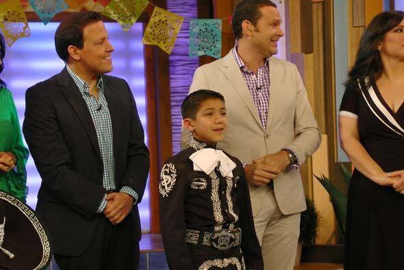 Sebastián de la Cruz se fue muy contento después de conoce...