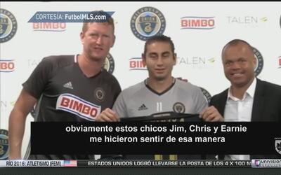 """Alejandro Bedoya: """"Estoy con muchass ganas a este nuevo reto con Philade..."""