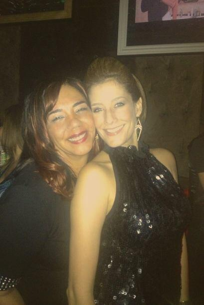 Nuestra corresponsal Daniela Ganoza celebró su cumpleaños el pasado fin...