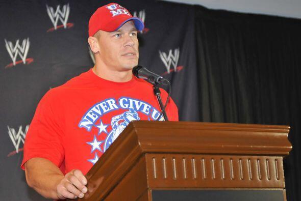 John Cena fue el encargado de anunciar que la WWE escogió a México como...