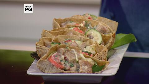 Chicken pita pocket con Bistec de Pollo Empanado Premium La Aguadillana