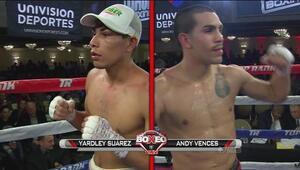 Andy Vences derrotó por decisión unánime a Yardley Suárez