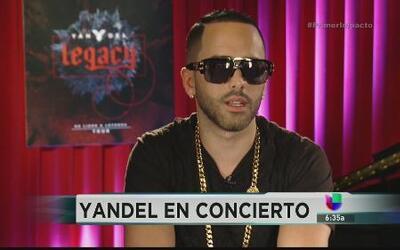 Yandel está ready para acaparar el mundo