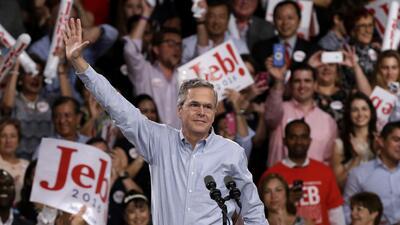 Jeb Bush lanza su candidatura por la nominación republicana