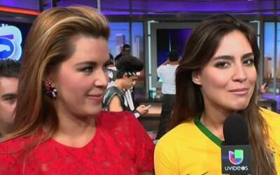 Alicia Machado aprendió gritar en portugués con Caipiriña