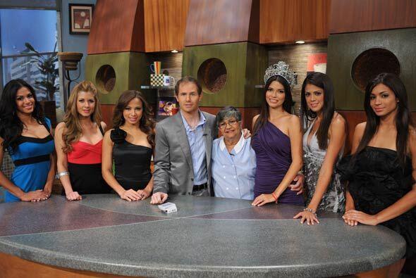 """Las cinco finalistas de """"Nuestra Belleza Latina"""" y la ganadora..."""