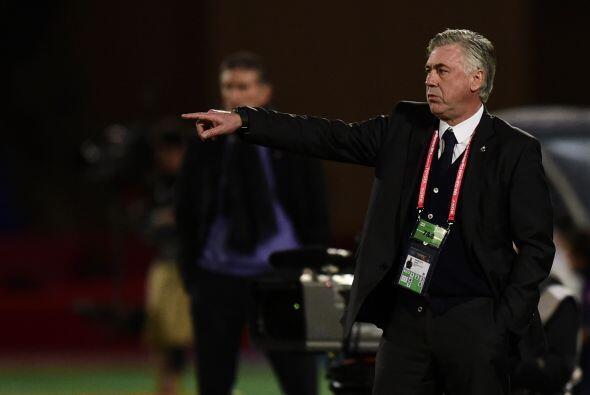 Ancelotti se mantuvo ecuánime y terminó por quebrar el buen trabajo defe...