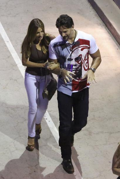 'Love is in the air', Sofía y Joe lucen muy enamorados.