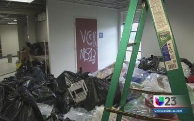 Vandalizan escuela en Fort Worth