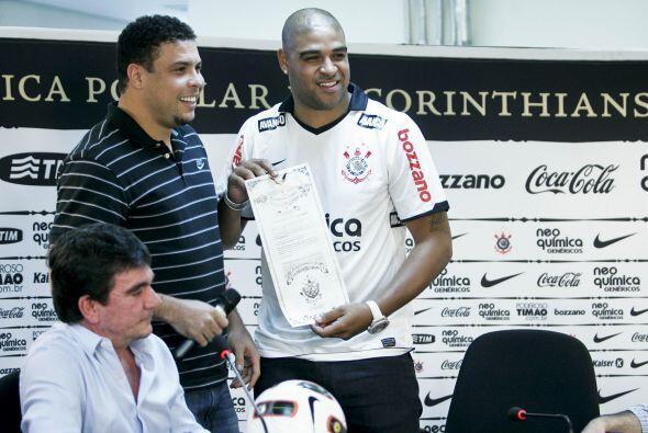 El propio Ronaldo se retiró del ´Timao´ en febrero pasado y acaba de abr...