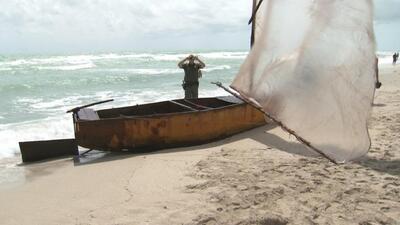 Balseros cuentan su travesía de 6 días escapando de Cuba con destino a E...