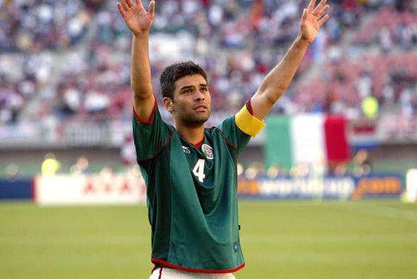Márquez lideró la defensa de México en el Mundial Sub-20 de Nigeria 1999...