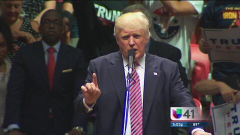 Donald Trump plantea suavizar las leyes migratorias