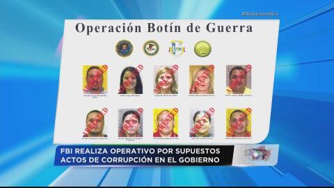 10 arrestados por corrupción gubernamental en Puerto Rico