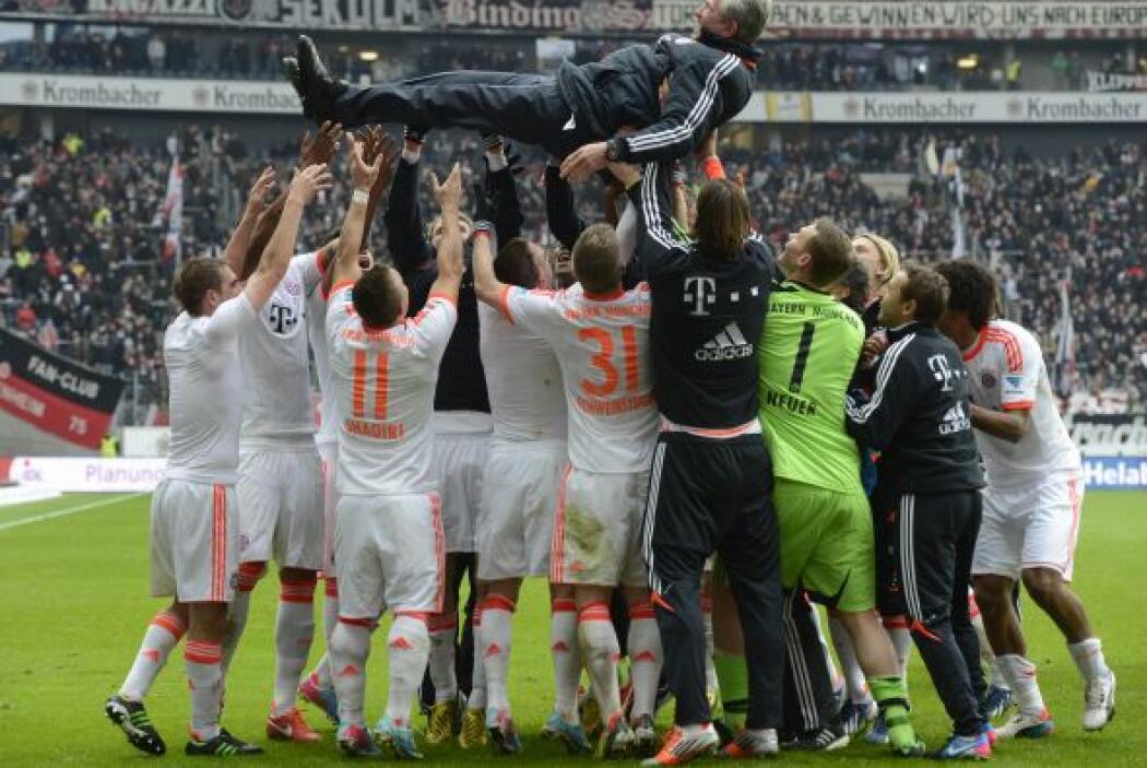 El Bayern, que Jupp Heynckes dejará en breve a Pep Guardiola, sueña con...