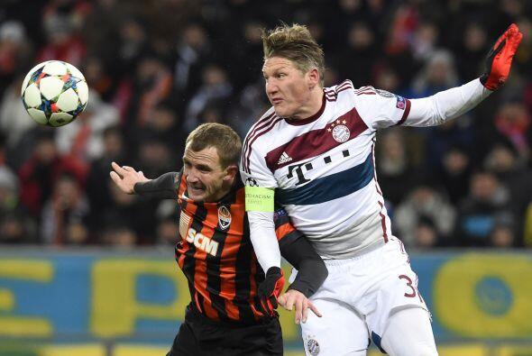 El Bayern fue superior que los ucranianos en casi todo el partido, pero...