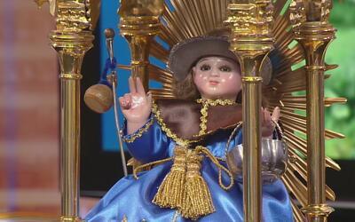 Imagen del Santo Niño de Atocha recorre varias ciudades de California ac...