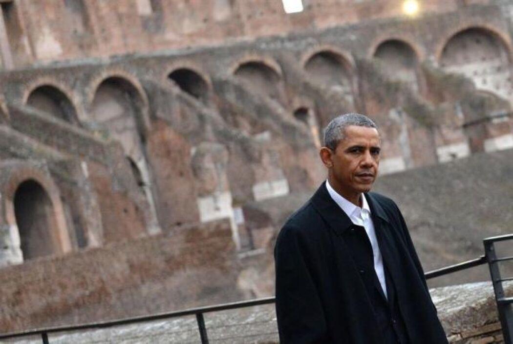 El presidente estadounidense Barack Obama se mostró deslumbrado por el C...