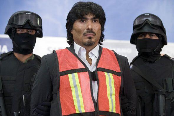 """El """"Indio"""" operador del cártel de los Beltrán Leyva fue detenido el 21 d..."""