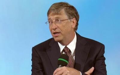 Bill Gates confesó que tiene una gran fortuna para ayudar a toda la huma...