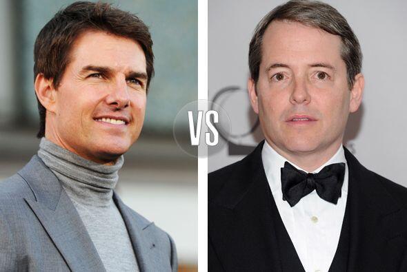 Tom Cruise y Matthew Broderick tienen dos cosas en común, el tale...