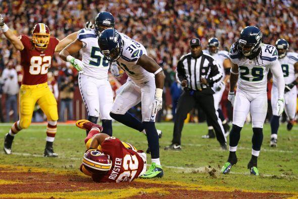 Los Redskins se vieron letales desde el principio lograron anotar con pa...
