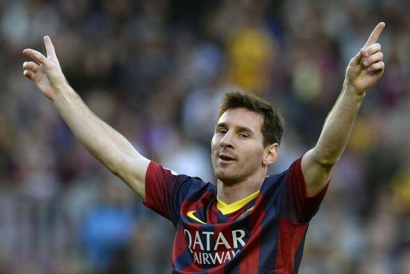 Para Lionel este gol fue histórico, porque superaba la marca de Paulino...