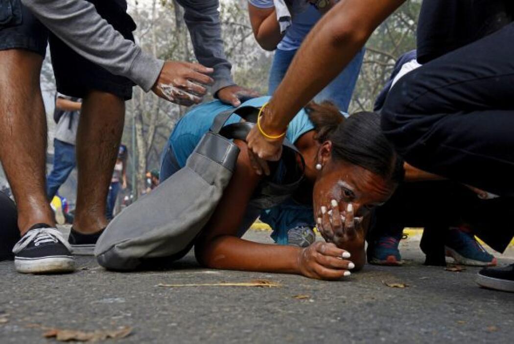 En ese lugar se inició hace ya más de un mes las protestas contra el Eje...