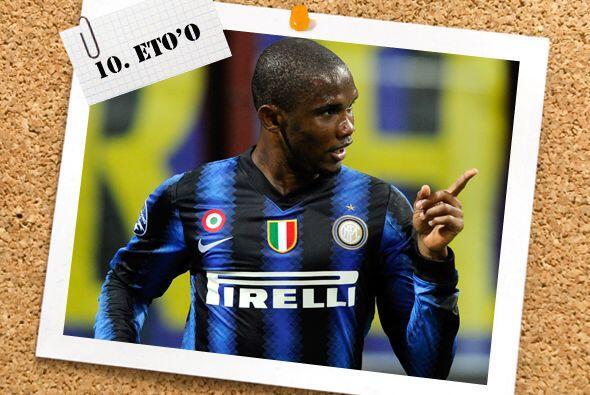 Samuel Eto'o no para de marcar con el Inter y ahora sumó un par de anota...