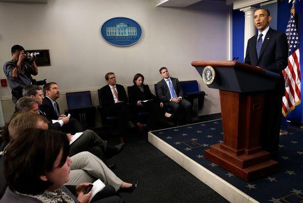 El presidente Barack Obama anunció que el gobierno está en la fase de in...