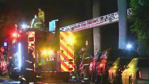 Un hombre relata cómo ayudó a sus vecinos durante el incendio en Exposit...